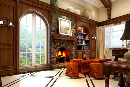客厅是铺实木地板好还是瓷砖好