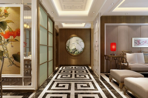 新中式悦湖设计