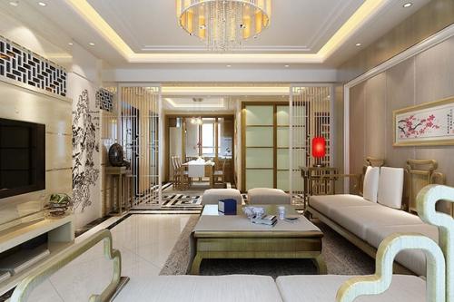 新中式悦湖装饰风格